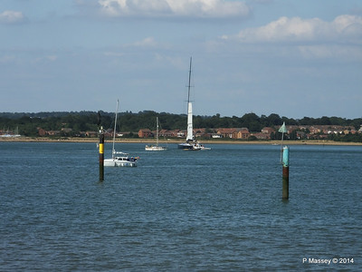 LEOPARD GBR-1R taking down sails Southampton Water PDM 22-07-2014 17-24-08