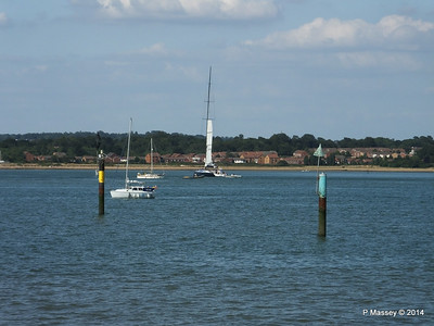 LEOPARD GBR-1R taking down sails Southampton Water PDM 22-07-2014 17-24-06