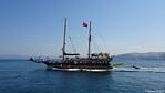 BABA KEMAL Departing Pigeon Island Kusadasi PDM 17-06-2017 08-42-03