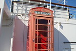 Red Telephone Box Promenade Deck Aft QUEEN MARY Long Beach 17-04-2017 16-47-07