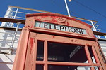 Rather Sad Red Telephone Box Promenade Deck Port Aft QUEEN MARY Long Beach 19-04-2017 16-47-16