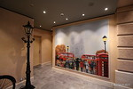 London Buses Taxi Telephone Box Painting by Brass Anchor Pub Galleria Meraviglia PDM 04-07-2017 14-23-10