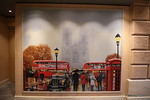London Buses Taxi Telephone Box Painting by Brass Anchor Pub Galleria Meraviglia PDM 04-07-2017 14-23-18