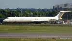 Impounded MD-82 ex I-DAVA ItAli Airlines LGW PDM 02-07-2017 17-39-54