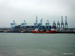 CORAL METHANE CSCL GLOBE Zeebrugge PDM 03-04-2015 16-24-56