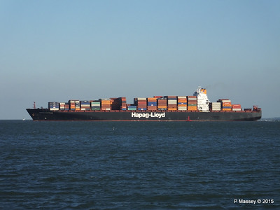 OSAKA EXPRESS Inbound Southampton Calshot PDM 01-10-2015 17-12-54