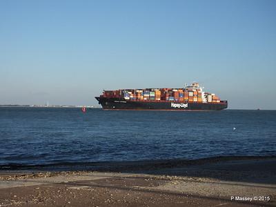 OSAKA EXPRESS Inbound Southampton Calshot PDM 01-10-2015 17-18-046