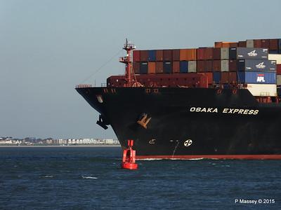 OSAKA EXPRESS Inbound Southampton Calshot PDM 01-10-2015 17-18-56