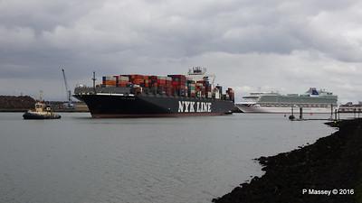 NYK ALTAIR Inbound Passing VENTURA Southampton PDM 06-03-2016 14-46-26