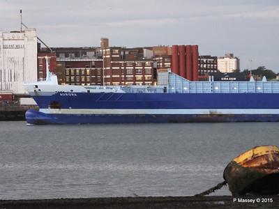 AURORA Arriving Southampton PDM 01-09-2015 19-08-59