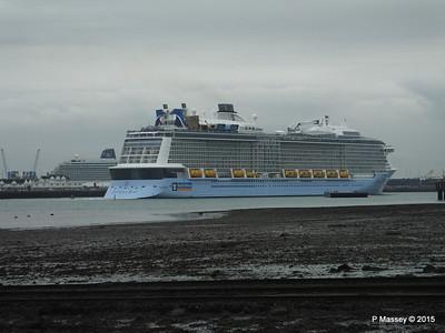 ANTHEM OF THE SEAS Departing Southampton PDM 29-08-2015 16-26-45
