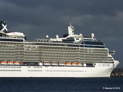 CELEBRITY ECLIPSE Departing Southampton PDM 19-10-2014 18-40-23