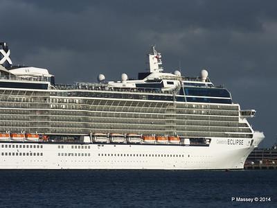 CELEBRITY ECLIPSE Departing Southampton PDM 19-10-2014 18-40-22