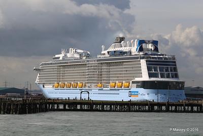OVATION OF THE SEAS over Royal Pier Southampton PDM 14-04-2016 16-06-15
