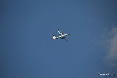 Flybe Dash 8 G-ECOJ Outbound SOU PDM 27-04-2016 18-55-11