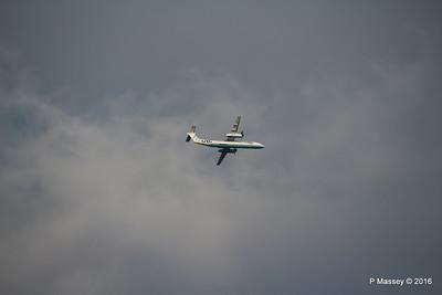 Flybe Dash 8 G-ECOJ Outbound SOU PDM 27-04-2016 18-55-21