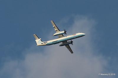 Flybe Dash 8 G-ECOJ Outbound SOU PDM 27-04-2016 18-55-013